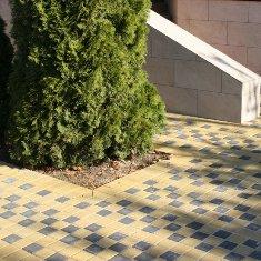 Тротуарная плитка Квадрат 100х100