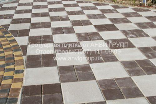 тротуарная плитка квадрат киев