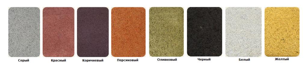 цветовая гамма тротуарной плитки Кирпич