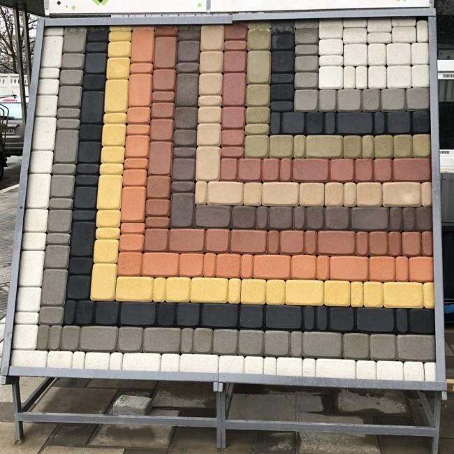 Тротуарная плитка Борисполь