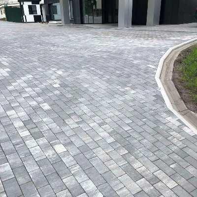 тротуарная плитка брусчатка Колор-микс