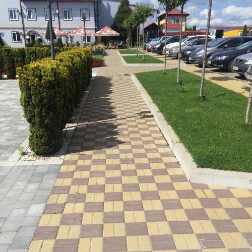 Тротуарная плитка Кирпчик