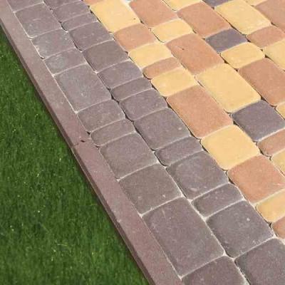 Бордюр садовый бетонный